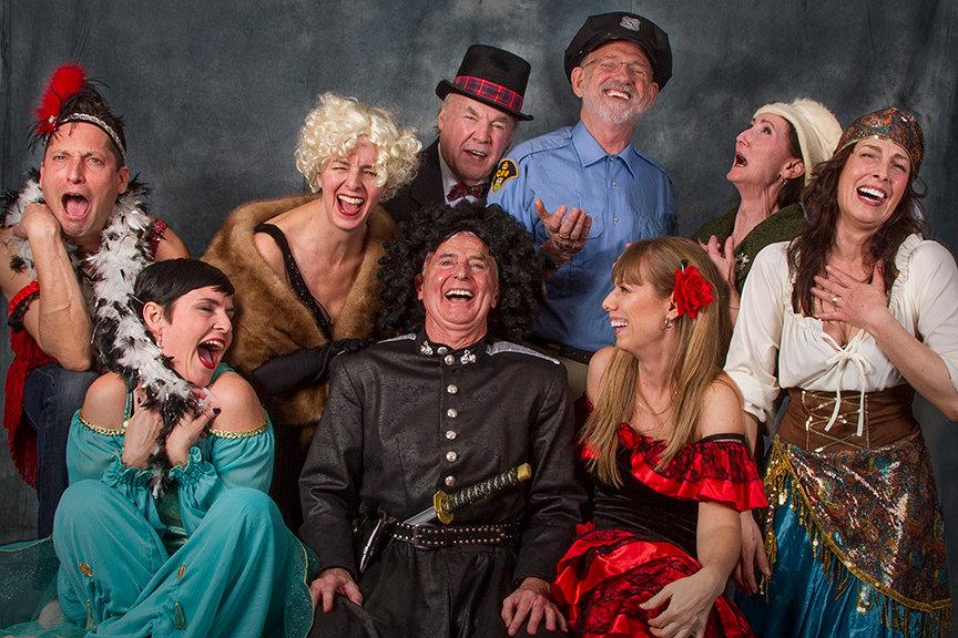 Gumshoe Mysteries Cast, London, Ontario, murder mystery dinner theatre