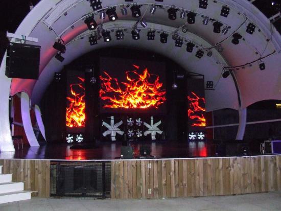 Omega Arena Use Ava Led screen TN-OF-10