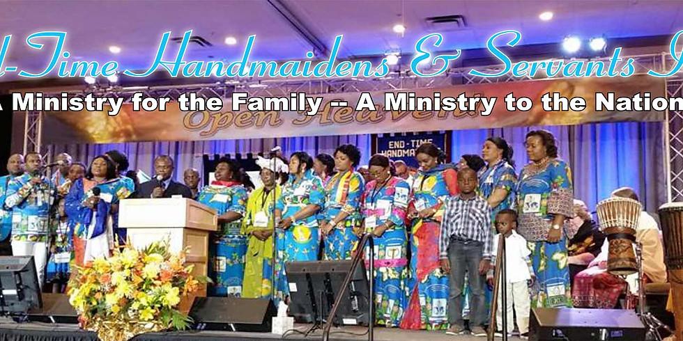 End-Time Handmaiden & Servants 41st World Convention