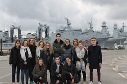 Visite de la base navale de Toulon et du CDG