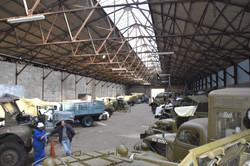 Les hangars de l'UNIVEM