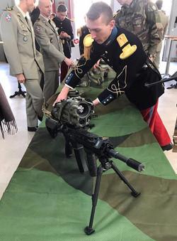 Présentation des nouvelles armes équipant nos armées lors du colloque du CDEC du 6 février 2020