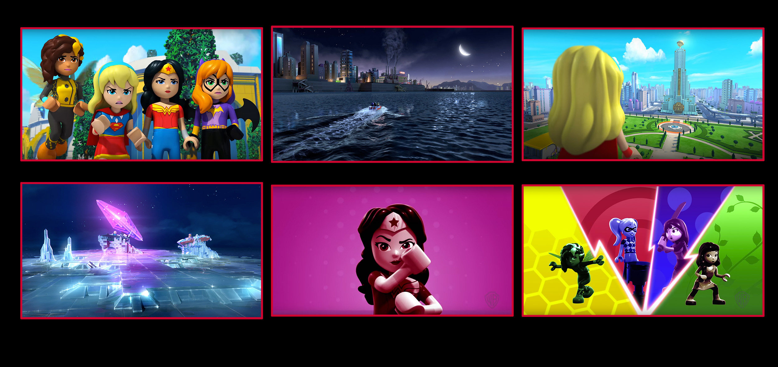 Lego DC Superhero Girls final frames