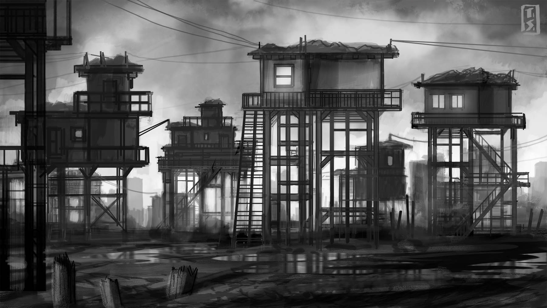 Electric City landscape