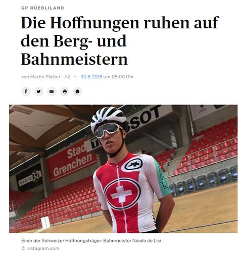 Aargauer Zeitung / GP Rüebliland