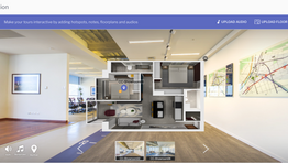 New feature: Use floormaps to present 360 images in Web and VR