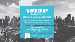 Workshop de SENTIO VR en USACH