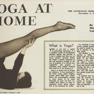 Yoga in Pix Magazine 1938–1954