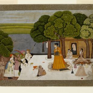 Visit to an ashram