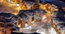 valmeinier 1800 sous la neige