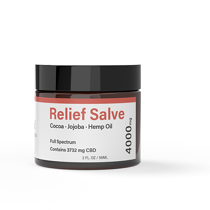 4000mg CBD Topical Salve