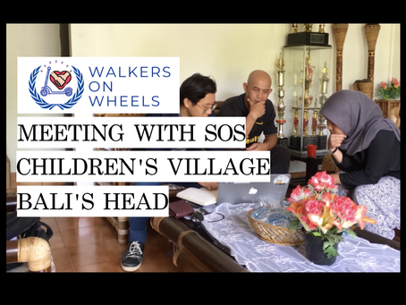Meeting with SOS Children's Village Bali's Head