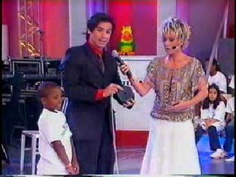 Show de Mágica no programa da Ana Maria Braga