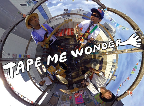 TAPE ME WONDER / official web site開設!