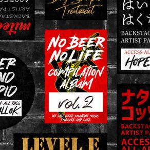 "V.A. / ""No Beer No Life compilation vol.2"" 配信開始!"