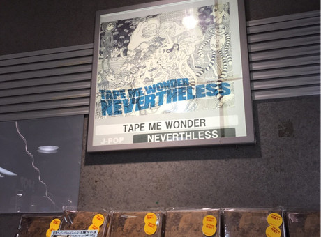 TAPE ME WONDER / タワーレコード新宿店へ登場!