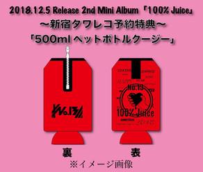 No.13 / 新宿タワレコCD予約特典にペットボトルクージー!