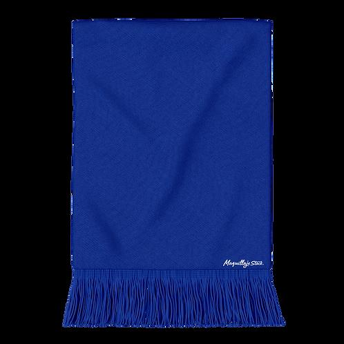 Pashmina Tejido 19MN04-4 Azul Al Por Mayor
