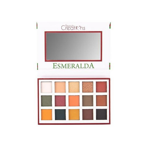 Sombra Esmeralda Palette I Beauty Creations