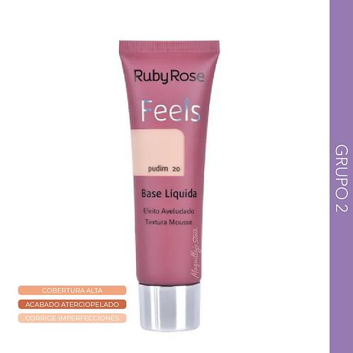 BASE LIQUIDA FEELS RUBY ROSE GRUPO 2