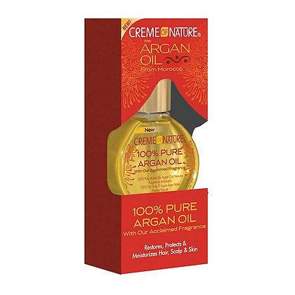 Aceite de Argán 100% Puro Creme Of Nature Al Por Mayor