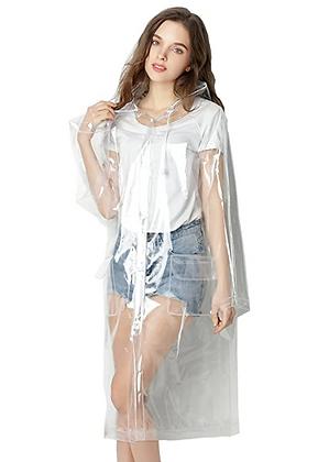 Impermeable Mujer Transparente EVA talla M