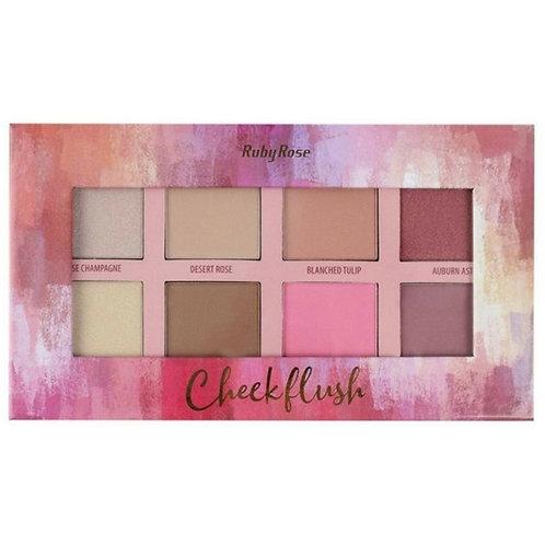 Paleta Cheek Flush Ruby Rose