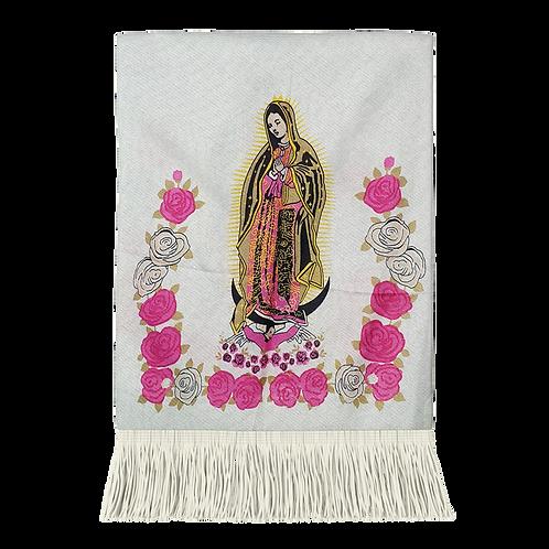 Pashmina 19MN03-14 Virgen Rosa Al Por Mayor