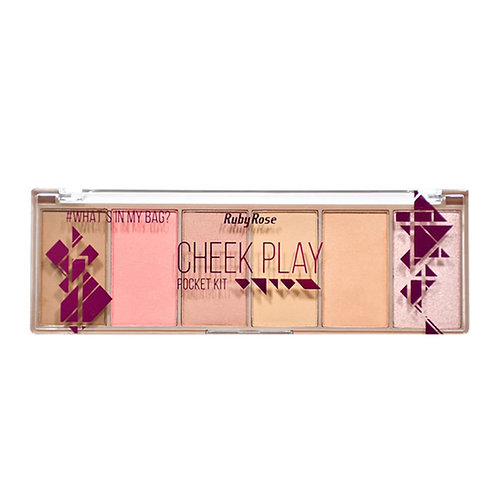 Paleta Pocket Cheek Play Ruby Rose