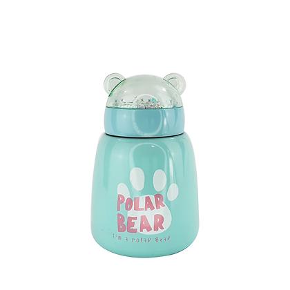 Termo Bebidas Calientes Polar Bear Azul Al Por Mayor