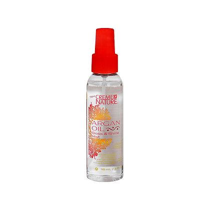 Aceite de Argan Gloss&Shine en Spray / 4oz Creme Of Nature
