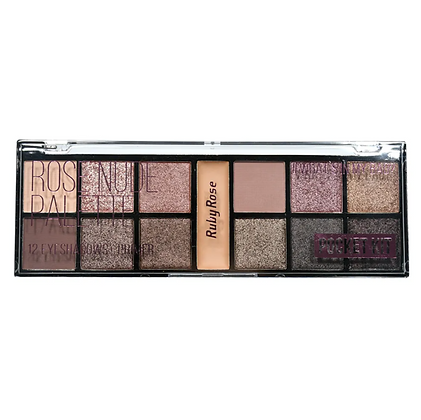 Paleta De Sombra Pocket Rose Nude Ruby Rose