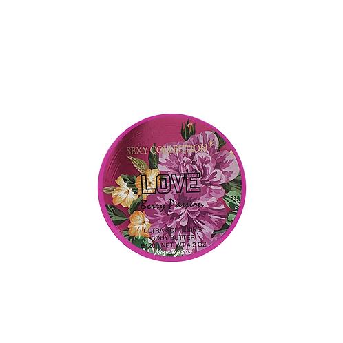 Crema Mantequilla Berry Passion SC x 120 Gr Al Por Mayor