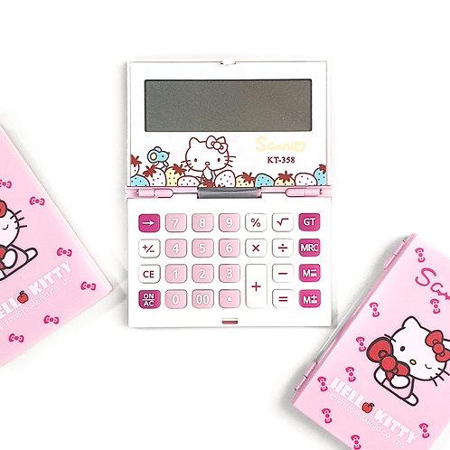 Calculadora Hello Kitty De Bolsillo