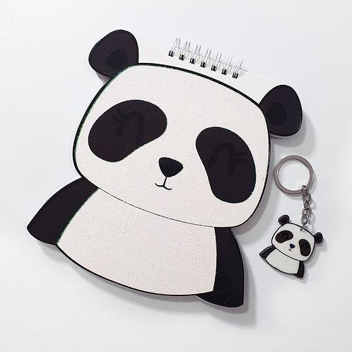 Agenda + Llavero Panda Al Por Mayor