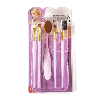 Set De Brochas x5 Purple Al Por Mayor