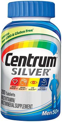 Centrum Men Multivitaminas SILVER + 50 200 Caps Al Por Mayor