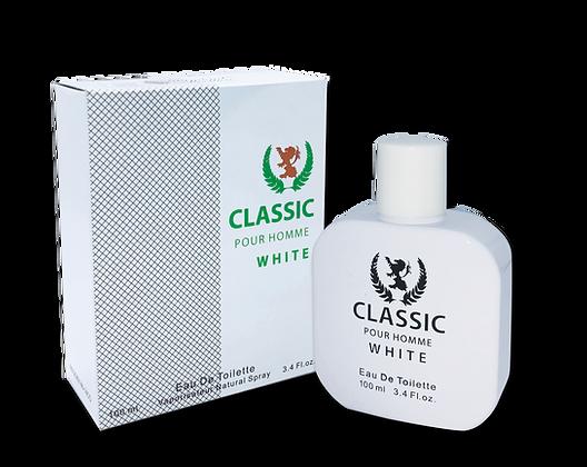 Classic Pour Homme White