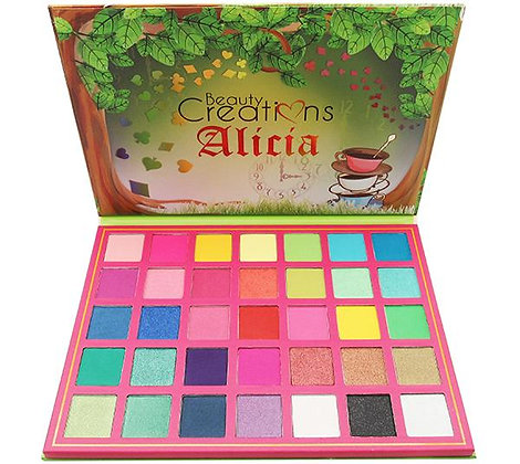 Alicia Shadow Palette Beauty Creations