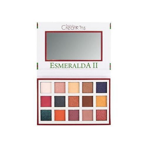 Sombra Esmeralda Palette II Beauty Creations