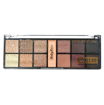 Paleta De Sombras Pocket Naughty Natural