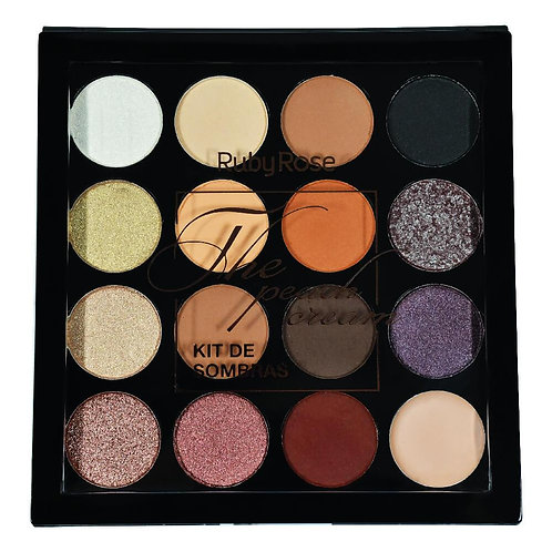 Paleta De Sombras The Peach Ruby Rose
