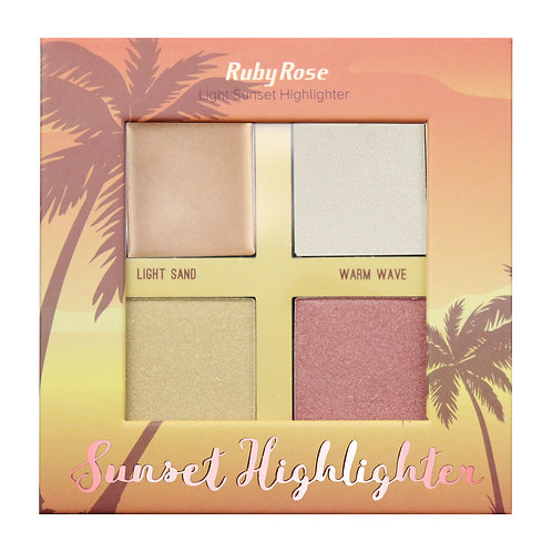 Iluminador Sunset Highlighter Light Ruby Rose
