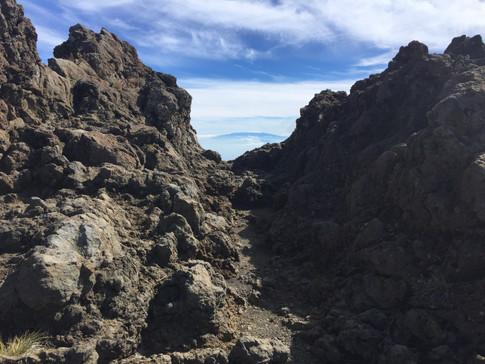 Mauna Loa from Haleakala