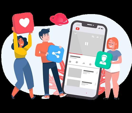 comprar inscritos para o youtube, marketing social para impulsionamento de redes sociais