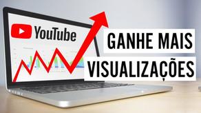 Os 3 melhores hacks para aumentar as  visualizações no YouTube