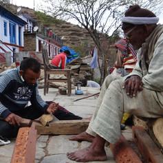 Gangaram-ji supervising Lalit