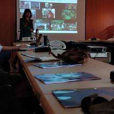 A presentation by the founder of Alaap, Sheeba Sen