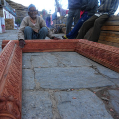 Construction of the Chaukhat