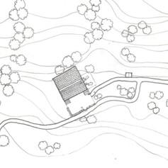 Site Plan of a Kumaoni house